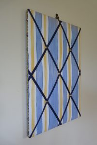 Nautical pin board from discoveryupholstery.co.uk