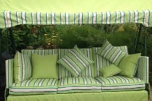 Sitting pretty: outdoor fabric to revitalise your garden