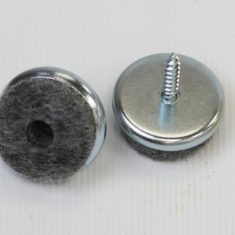 Felt on Steel Screw in Glides